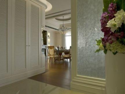 时尚欧式风格三室两厅装修效果图