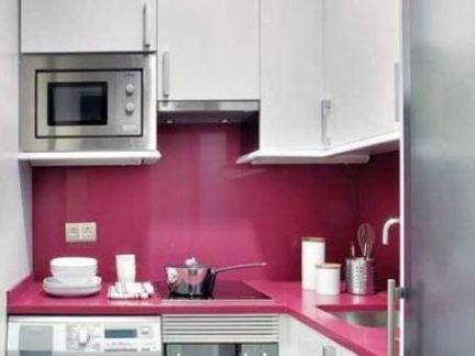 时尚家居超小厨房装修图