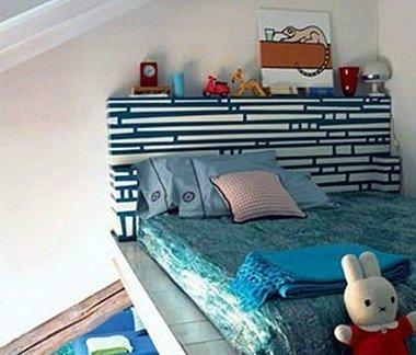 时尚卡通小孩卧室装修效果图