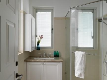 简约装修小卫生间淋浴房效果图