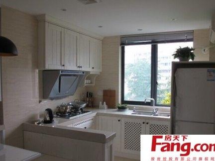 美式老房子小户型厨房装修效果图
