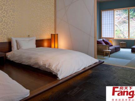 家装日式榻榻米床设计效果图