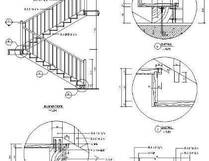 楼梯剖面图设计图