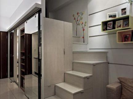 超小户型室内楼梯效果图