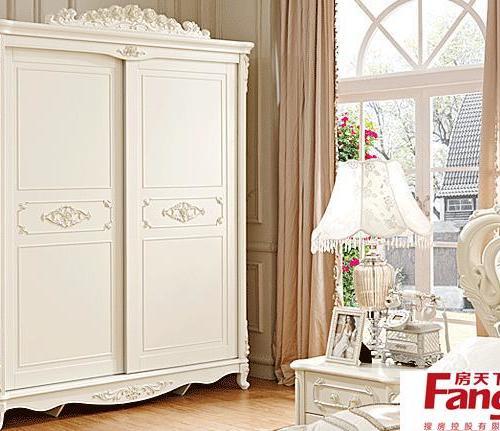 北欧风格简约衣柜