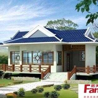 中式乡村别墅设计图图片