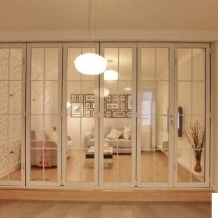 家装玻璃隔断设计-搜房网装修效果图