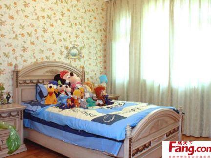 8平米田园风格儿童房装修图