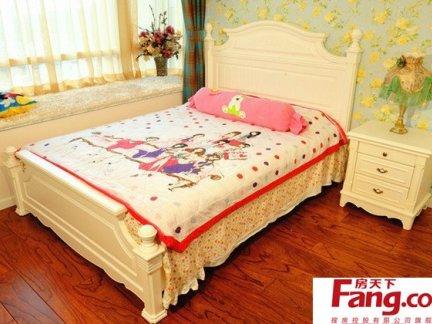简约欧式风格小孩卧室装修效果图图片