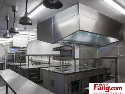 不锈钢酒店厨房设计