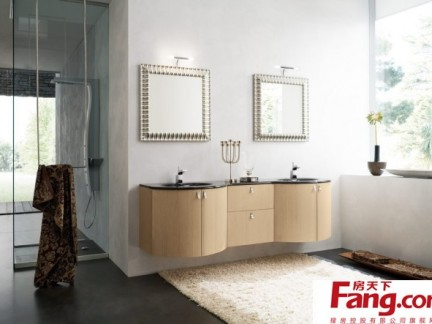 卫生间洗脸盆组合柜图片