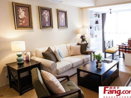 简美式风格小客厅装修效果图图片