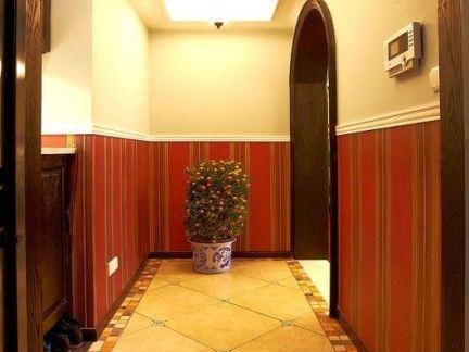 别墅地板砖过道效果图别墅客厅地板砖效果图图片10