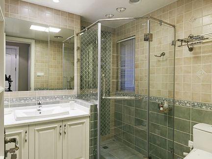 家庭卫生间淋浴房设计效果图