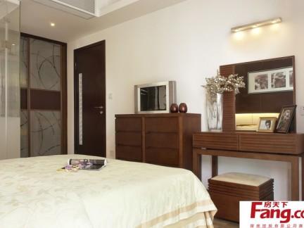2018传统中式卧室柜子装修效果图-房天下装修效果图图片