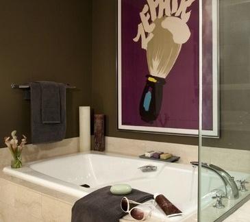 简约现代风格装修图片 现代风格装修样板间 卫生间图片
