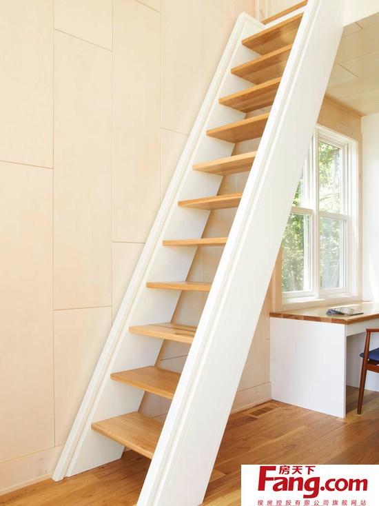 复式楼阁楼楼梯装修图片