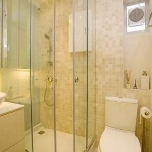 家装浴室玻璃效果图