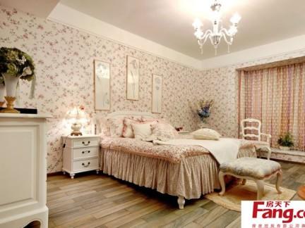 卧室欧式田园风格家具效果图