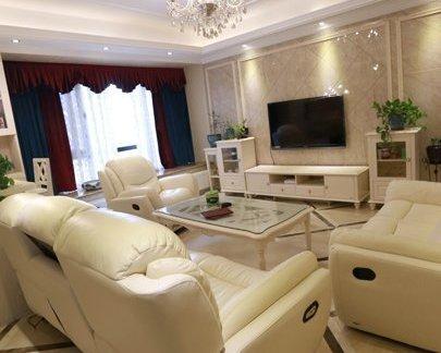 简欧式风格客厅装修效果图大全