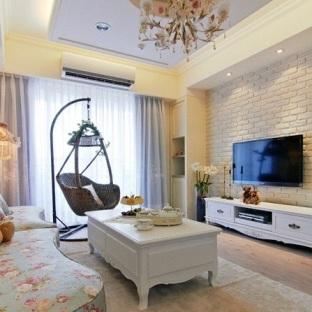欧式风格客厅电视柜背景墙效果图图片