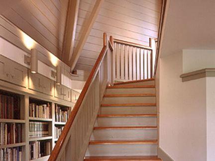 室内阁楼楼梯设计效果图
