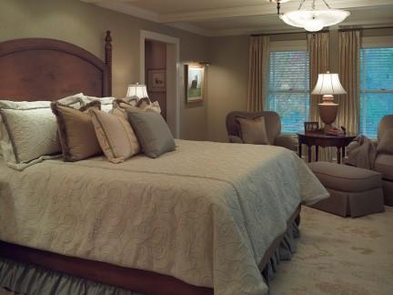 2017美式主卧室装修图片-房天下装修效果图图片