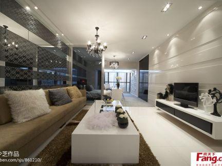 现代风格40平米一居室小户型装修效果图-40平小居室装修