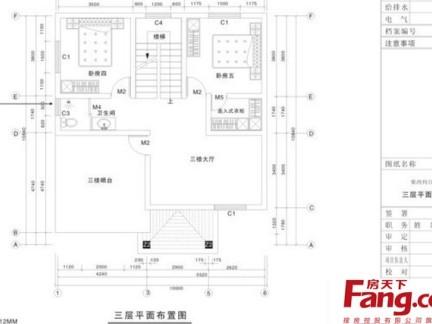 农村三层房屋设计平面图大全-2017传统中式农村三层房屋设计图 房天图片