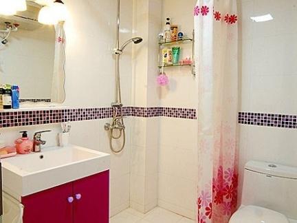 简约小卫生间淋浴房效果图