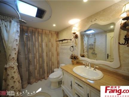 家庭欧式卫生间装修效果图图片