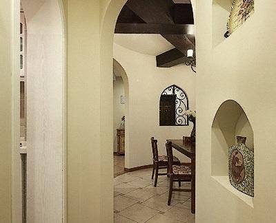 家装拱形门装修效果图