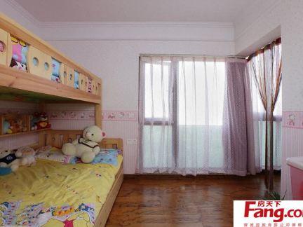 简单的双人儿童房设计