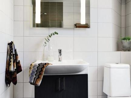 现代简约卫生间洗脸盆柜组合图片