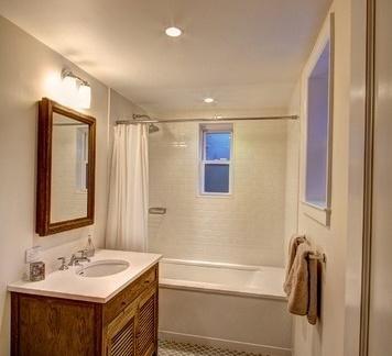 欧式装修样板房卫生间图片