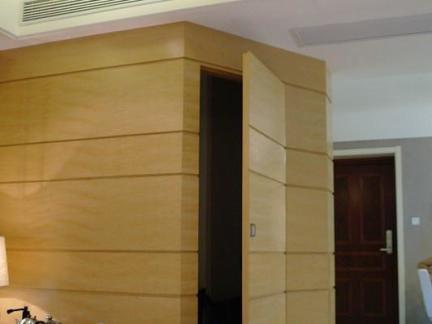 客厅隐形门装修设计图片