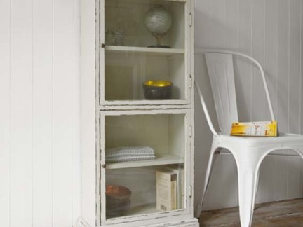 复古风格家用储物柜图片