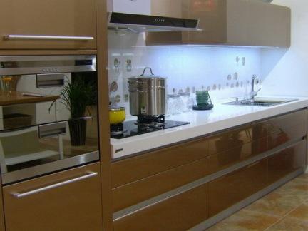 2019厨房烤漆橱柜图片-房天下装修效果图