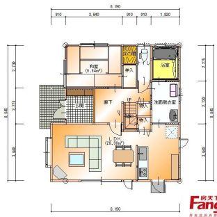 日本房间平面图设计