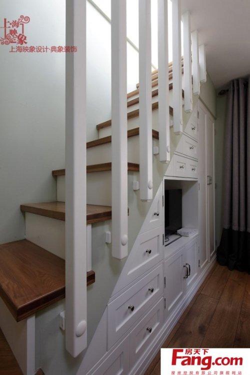 小户型楼梯柜设计图片