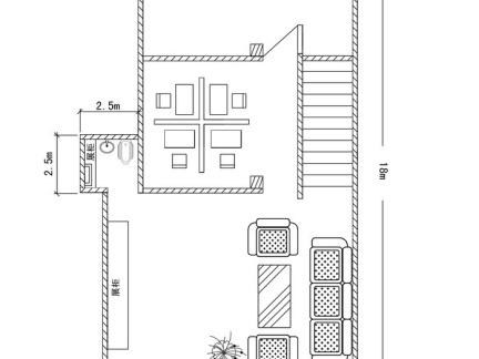018室内楼梯平面图设计 房天下装修效果图