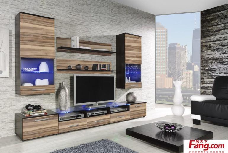 客厅电视柜设计效果图
