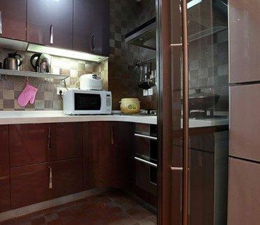 家装厨房推拉门效果图