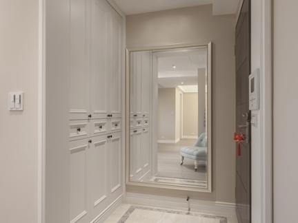 简约欧式风格三室两厅装修效果图