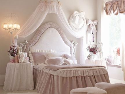 欧式风格公主房儿童家具图片