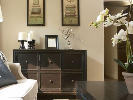 客厅柜子装饰效果图