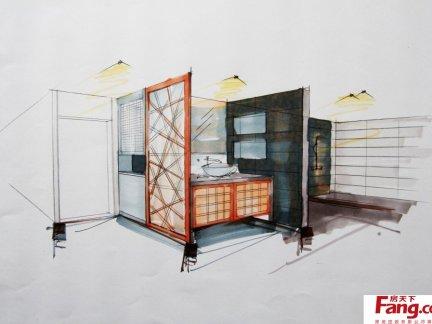 室内设计手绘效果图片