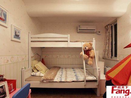 儿童房上下铺装修设计图片欣赏
