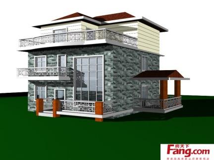 自建别墅房子设计图