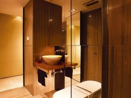 宾馆客房卫生间装修效果图